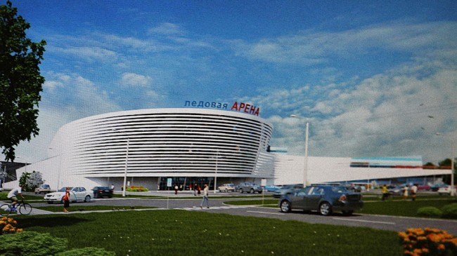 Проектирование училища олимпийского резерва по хоккею выходит на завершающую стадию