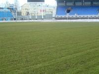 Газон стадиона «Шинник» готов к возобновлению чемпионата