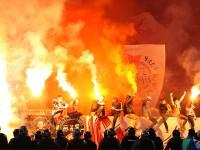 Болельщик, вывесивший нацистский флаг во время матча «Шинник» — «Спартак» заплатит 1,4 миллиона рублей
