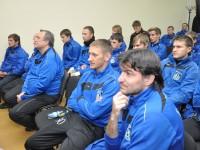 Сергей Ястребов обсудил перспективы ФК «Шинник» с командой и тренерским штабом