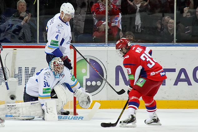 «Локомотив» обыграл «Барыс» — 4:1
