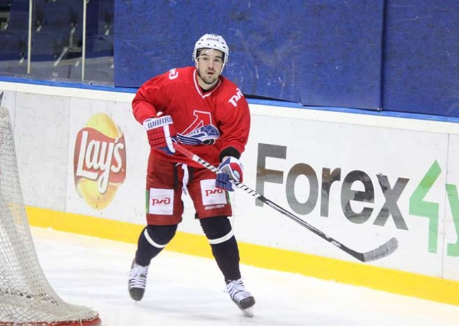 Фото: Хоккеисты «Локомотива»  проводят активные тренировки в Ярославле