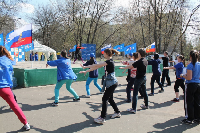 200 ярославцев поучаствовали в фестивале «ГТО-2014»