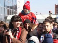 Ярославские болельщики встретили «Локомотив»
