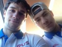 Егор Яковлев в составе сборной России готовится к Чемпионату мира