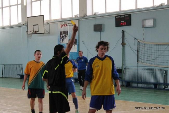 Открытый Кубок ЯЖТ филиал МИИТ по мини-футболу