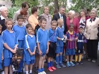 В Угличе состоялось открытие новой универсальной спортплощадки
