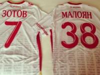 Экс-футболисты «Шинника» сделали совместное фото игровых футболок