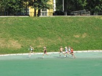 Учащиеся отделения художественной гимнастики СДЮСШОР № 5 сдавали нормы ГТО