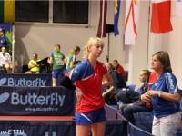 Мария Маланина выступила на юношеском Первенстве по настольному теннису в Италии