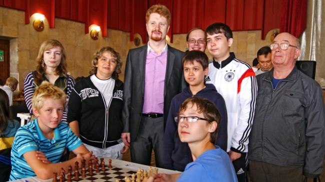 Чемпионы Европы по шахматам встретились с участниками фестиваля «Ярослав Мудрый»