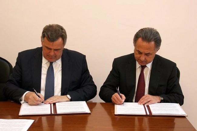 Сергей Ястребов подписал соглашение о сотрудничестве с Минспортом