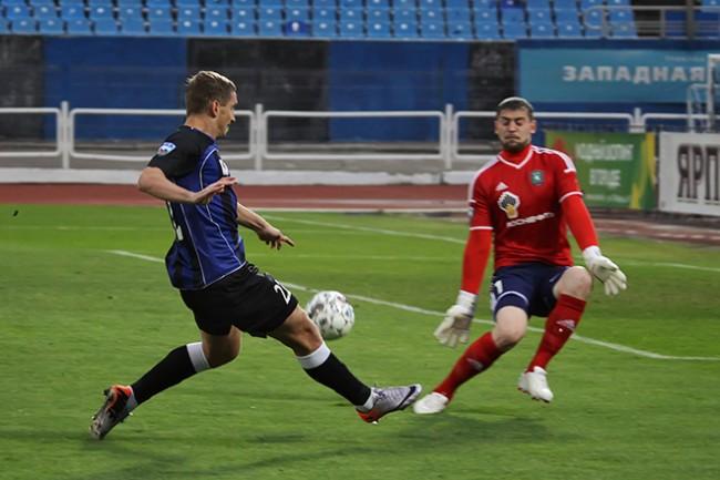 Сергей Самодин вновь отличился за «Мордовию»