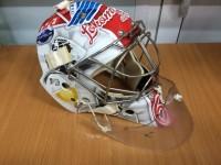 На новом шлеме Максима Сидорова будут изображены Александр Вьюхин и Стефан Лив