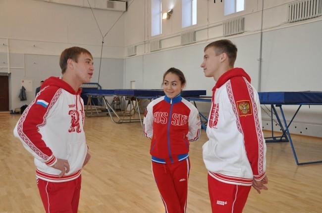 Сборная России по лыжной акробатике начала сборы в Ярославле