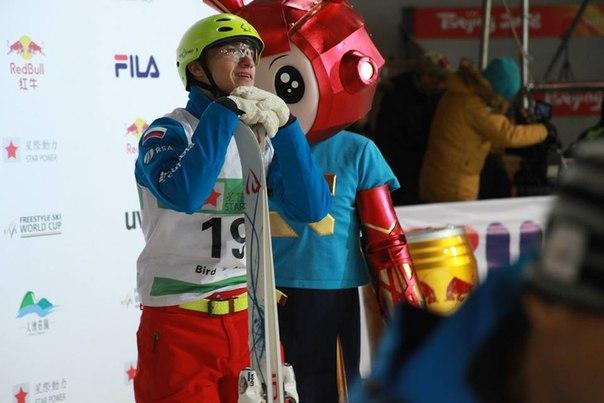 Илья Буров взял «бронзу» на домашнем этапе по фристайлу