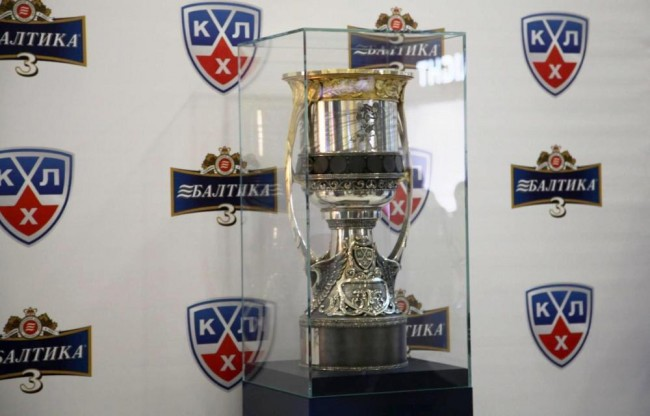 В Ярославль приехал Кубок Гагарина