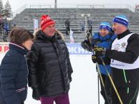 Сергей Ястребов вручил благодарности организаторам этапа Кубка мира по лыжным гонкам в «Демино»
