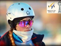 Любовь Никитина из Ярославля — двукратная победительница этапа Кубка Европы по лыжной акробатике