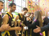 Баскетбольный «Буревестник» занял четвертое место в финальном этапе Первой лиги