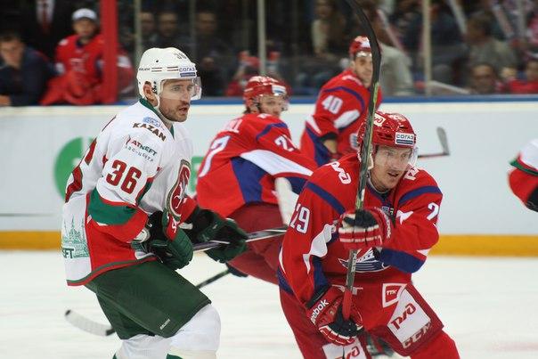 «Локомотив» переиграл «Ак Барс» в первом матче в сезоне Зарипова