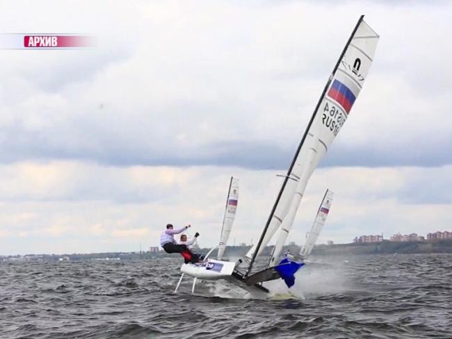 Ярославец стал серебряным призером чемпионат России в олимпийских классах яхт