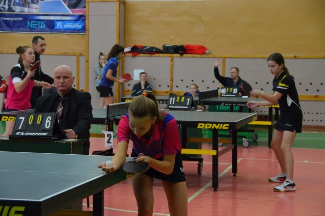 Сборная Ярославской области по настольному теннису завоевала бронзовые медали на чемпионате ЦФО