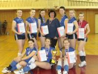 В рамках Универсиады вузов прошли соревнования по волейболу среди женских команд