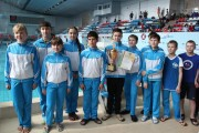 Ярославские пловцы завоевали бронзовую медаль на Первенстве России по подводному спорту