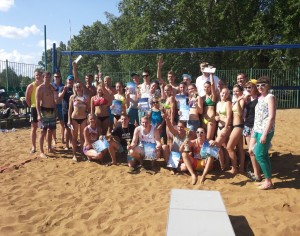 Прошел турнир по пляжному волейболу, посвященный Дню города Ярославля