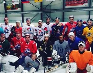 Бывшие и нынешние хоккеисты «Локомотива» встретились в Ярославле