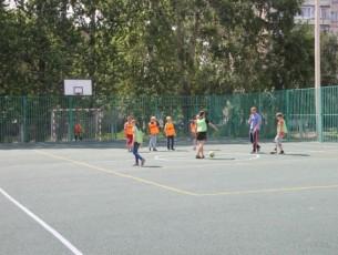 Во Фрунзенском районе  открылась новая спортивная площадка