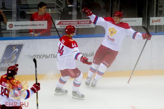 Фото: Егор Коршков помог Олимпийской сборной России победить ЦСКА