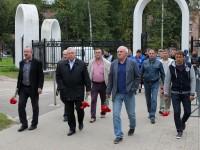 «Шинник» почтил память погибшей команды «Локомотив»