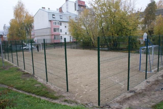 В Заволжском районе открылась новая спортивная площадка