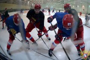 Хоккеисты «Локомотива»  тренируются в составе национальной команды России