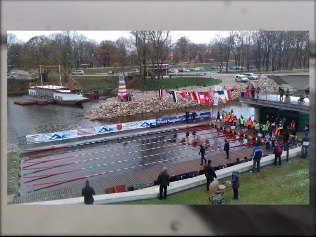 Спортсменка из Рыбинска взяла «бронзу» на втором этапе Кубка мира по зимнему плаванию