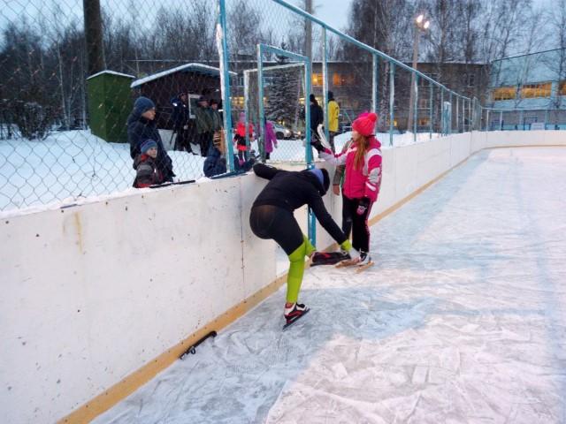 Началась подготовка к турниру по хоккею среди дворовых команд «Студёный лёд»