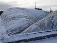 В Ярославле начались работы по поднятию купола в легкоатлетическом манеже