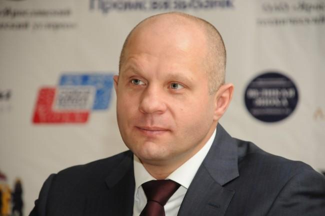 Федор Емельяненко провел мастер-класс для спортсменов Ярославской области