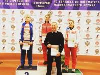 Анастасия Галашина взяла «бронзу» на соревнованиях в Ижевске