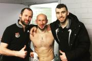 Илья Горохов завершил карьеру хоккеиста: игроки «Локомотива» презентовали ему необычный подарок