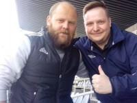 Денис Бояринцев посетил матч «Шинника» с «Нефтехимиком»