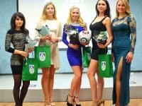 Участницы конкурса «Мисс Шинник»: Всегда посещаем матчи любимой команды