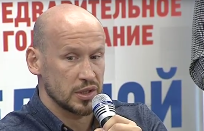 Хоккеист Илья Горохов поймал сома с человеческий рост