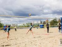 В День города прошел турнир по пляжному волейболу