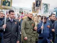В акции «Бессмертный полк» приняли участие Дмитрий Миронов Илья Горохов, Юрий Башмет