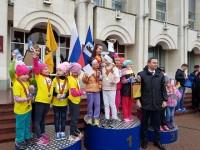 В Ярославле прошла традиционная легкоатлетическая эстафета, посвященная Дню Победы