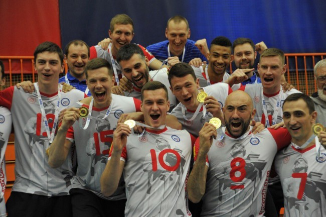 В Ярославле вручили золотые медали игрокам «Ярославича»