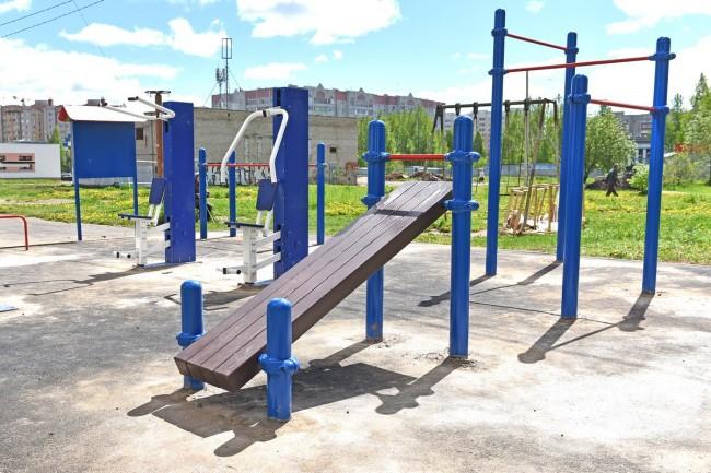 Современная спортплощадка скоро появится у школы №27